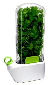 These pods will keep most herbs fresh for up to three weeks.
