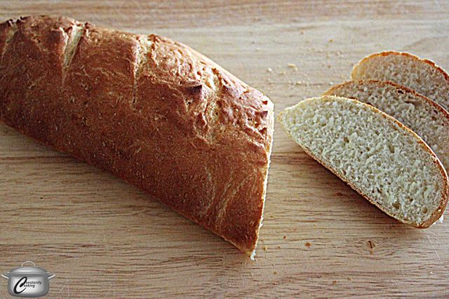 This classic Italian bread is very similar to baguette. It has a lovely crumb and fantastic taste.