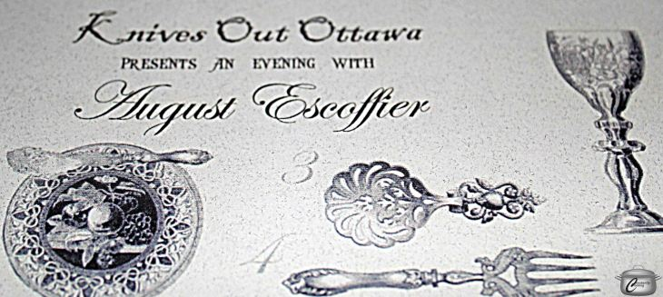 The third Knives Out Ottawa dinner was a wonderfully excessive tribute to French Cuisine.