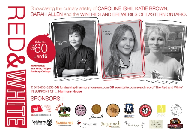 Women with Knives. Yup - this is going to be a very delicious evening!