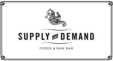 Based on past experience, I have high hopes for the whole dining experience at Supply and Demand.