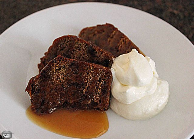 This dense, moist cake tastes only subtly of dates and the toffee sauce gives it a sweet, rich finish.