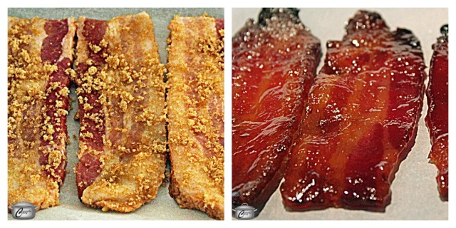 Candied bacon adds an amazing flavour and texture contrast to lots of dishes, both sweet and savoury.