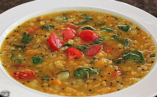 This lentil soup has a subtle yet complex flavour, thanks to the blend of seasonings. It's a great way to introduce people to vegan cuisine!