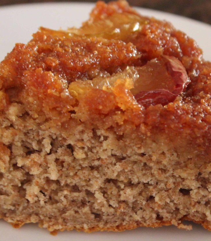 Caramel apple pan cake