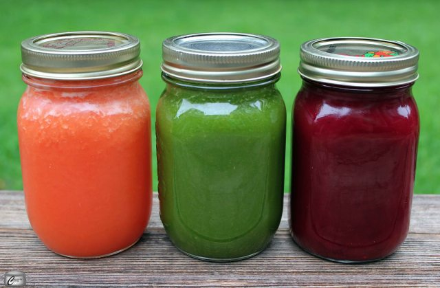 Freshly-made juices are colourful, delicious and incredibly tasty. I've been drinking a rainbow every day lately!