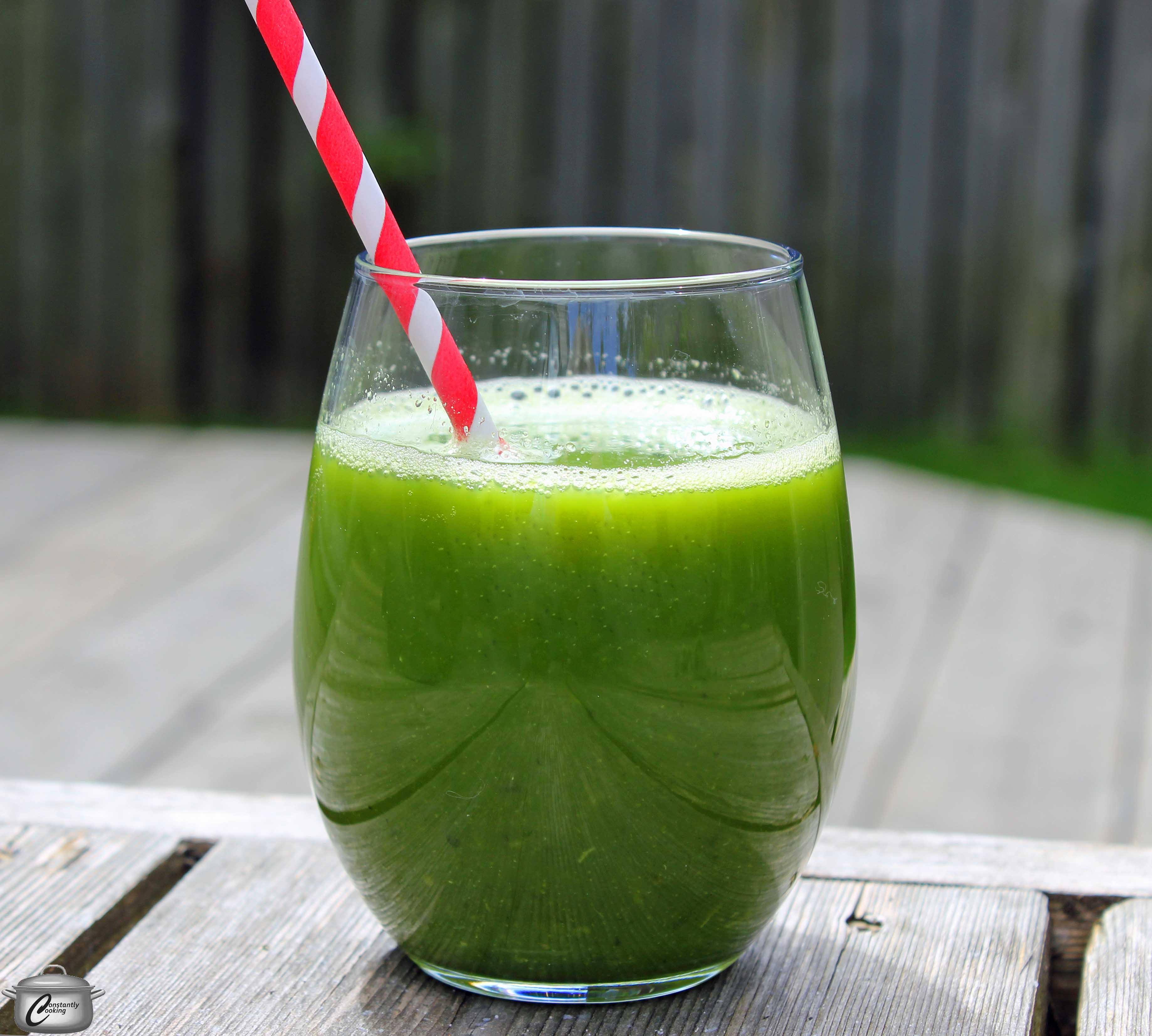 Green juice is an easy way to add loads of nutrition to your day. It's ...