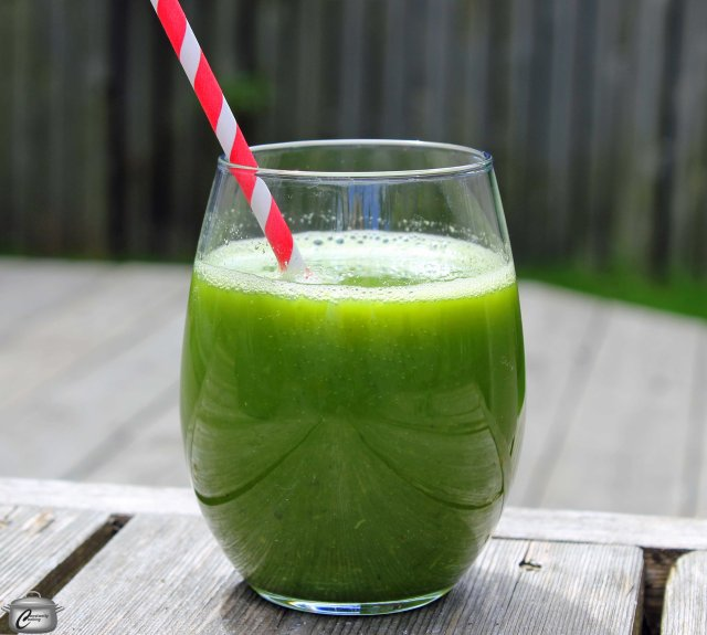 Green juice is an easy way to add loads of nutrition to your day. It's tasty too!