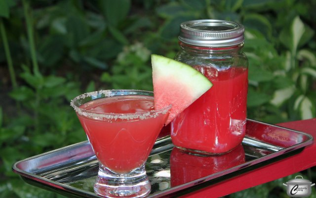 Regular watermelon juice would be lovely in this drink, but smoking the fruit first makes for a more unique, truly delicious cocktail.