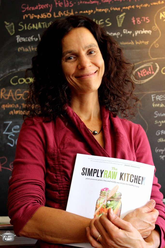 Cook, coach, teacher and raw foodist, Natasha Kyssa is a glowing example of the benefits of eating fresh, whole, unprocessed foods.