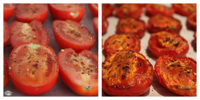 Oven-roasted tomatoes are easy to prepare and can be frozen whole or pureed into delicious sauce.