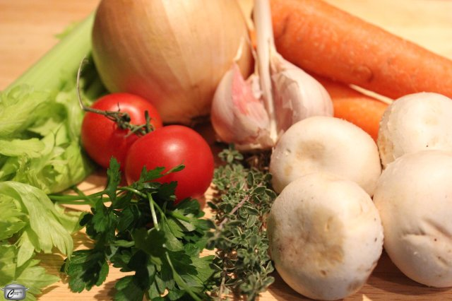 It only takes a small amount of produce to make a rich, flavourful vegetable stock; you can even save up trimmings if you prefer. Use good quality stock to create more delicious, satisfying soups.