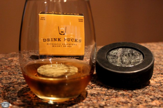 These drink pucks are fun and functional.
