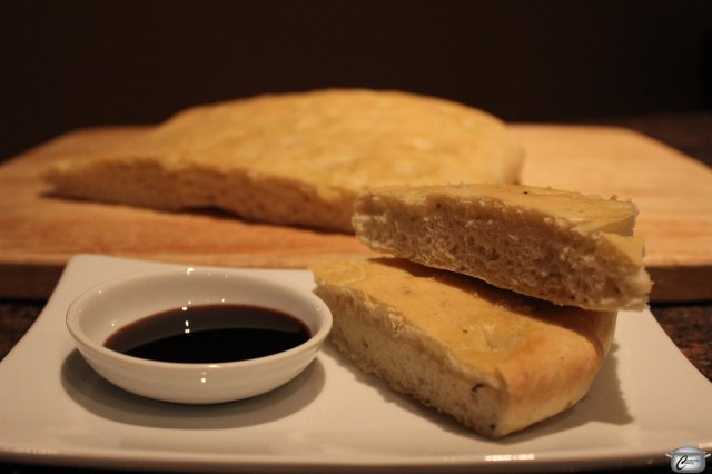 Flavourful focaccia is a wonderful element in lots of Italian menus. Leftovers make fantastic panini as well!