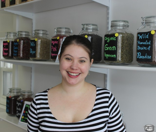 Jodi Samis is the helpful, knowledgeable and always-cheerful proprietor of Cardamom & Cloves.