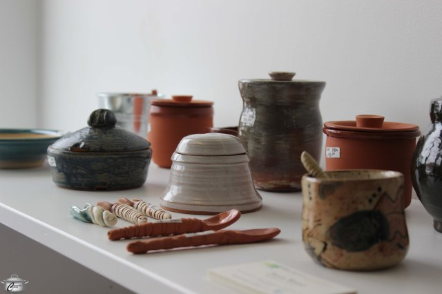 Cardamom and Cloves' inventory includes some beautiful locally-crafted pottery.