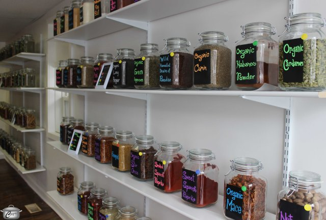 Once fully stocked, there will be over jars of the freshest spices imaginable - from the ordinary to the exotic.