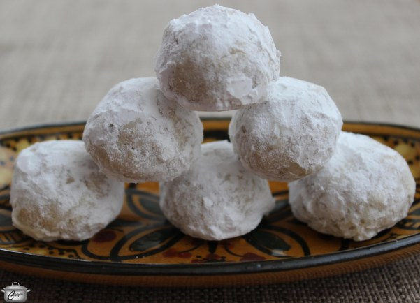 Reminiscent of shortbread, Russian Tea Cakes have a lovely texture and flavour.