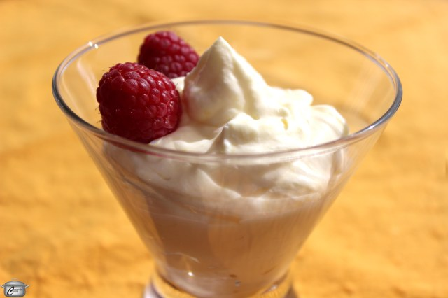 Combining lemon curd and whipped cream makes for a delicious mousse that literally takes just minutes to prepare.