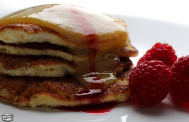 Lemon-Oat-Ricotta Pancakes medium res