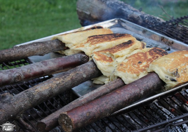 Bannock was a whole lot more fun than your traditional restaurant bread service!