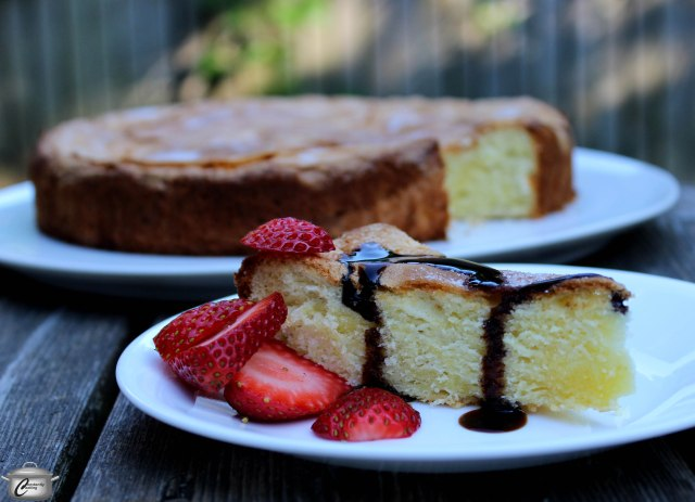 This cake has a wonderfully unique flavour thanks to the olive oil in the recipe.