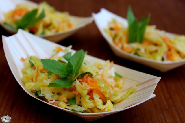 Vietnamese coleslaw has a bright, fresh flavour that makes it the perfect accompaniment to any summertime meal.