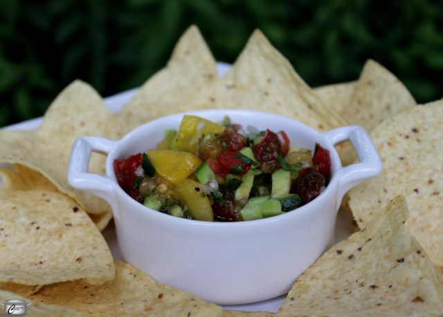 Packed with fresh flavour, this salsa showcases heirloom tomatoes' superior taste.