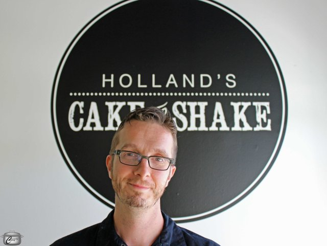 Chef Michael Holland is proud to finally open his own business.