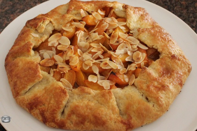 A rustic apricot tart showcases this fruit in an attractive and delicious way.