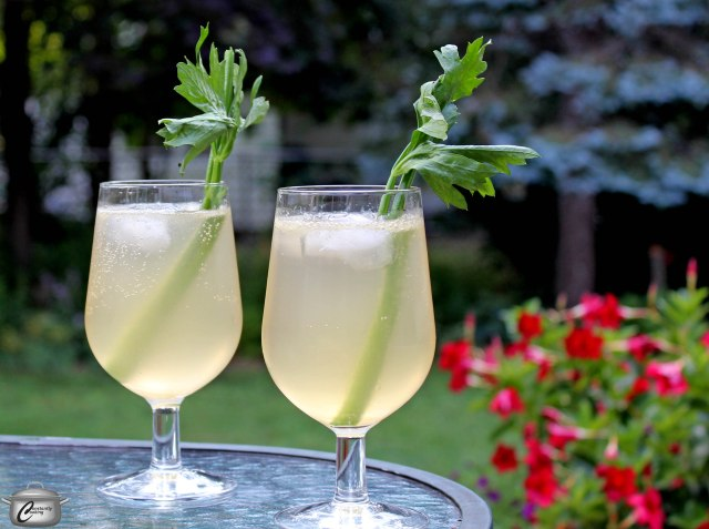 With just a hint of celery flavour, this cocktail has an intriguing, refreshing flavour.
