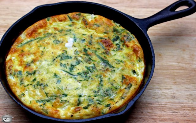 Frittatas are a great way to use up small quantities of vegetables; they can also showcase the freshest seasonal produce as well.