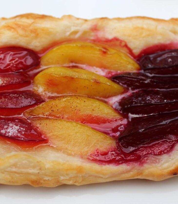 stone fruit galette