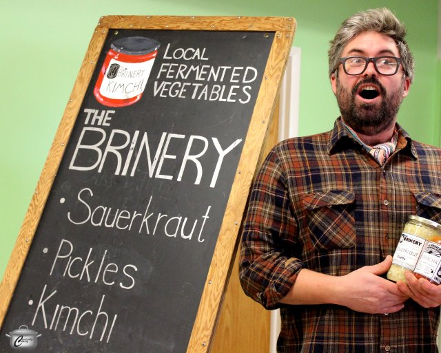 David Klingenberger, founder of The Brinery, is even more excited about fermented foods than I am.