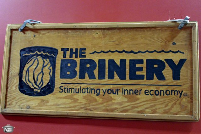 The Brinery's clever tag line alludes to the many health benefits offered by eating fermented foods.