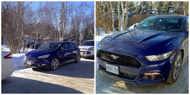See that great parallel parking job? The Ford pretty much parked itself, thanks to Active Park Assist - it was amazing. And driving that sweet 6-speed Mustang was pretty awesome.