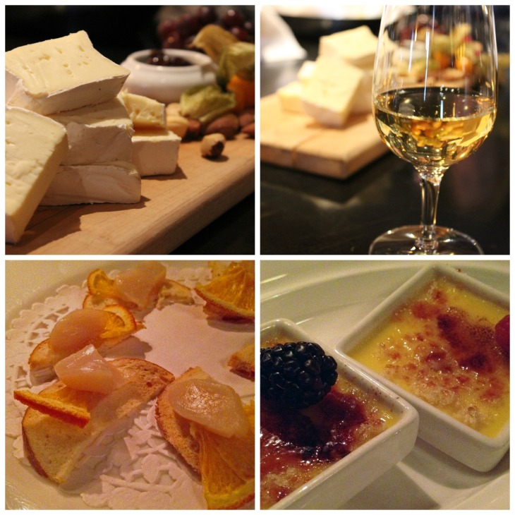 From first bite (and sip) to last, everything I tasted at Hotel Quintessence was superb. Plus, you have to love a spot that gives you TWO creme brulees for dessert!