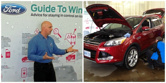 Robin Buck gave us a great refresher on winter driving safety which included useful tips on vehicle maintenance.