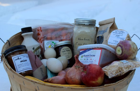 I was impressed with the wide variety of local foods available at the Ottawa Farmers' Market, even in the winter.