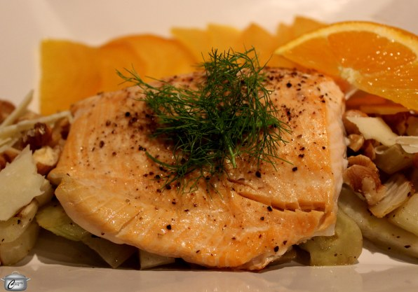 Mild-flavoured Arctic char is so delicious even people who claim they don't like fish would probably enjoy it.