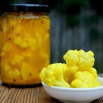 curried cauliflower pickles