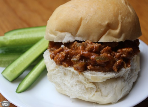With way less sodium and sugar than many version, these Sloppy Joes - made with ground chicken, turkey or beef - are healthier yet full of flavour too!