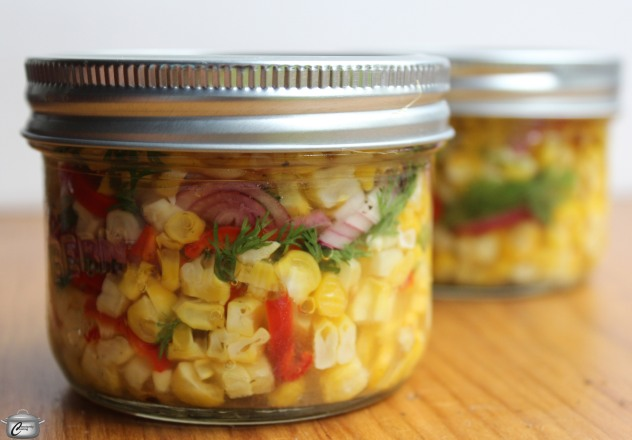 Strip kernels from grilled cobs of corn and bathe them in a tangy brine for one of the easiest, tastiest and most versatile pickled treats ever!
