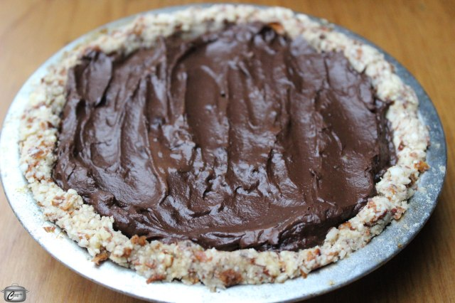Creamy Vegan, Gluten-Free Chocolate Mousse Pie