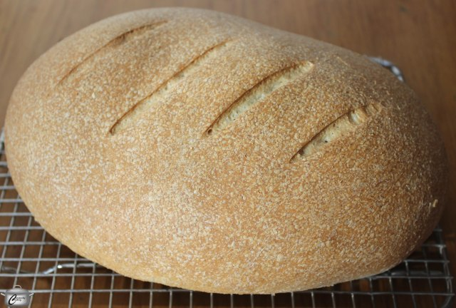 This rustic loaf has a great flavour and texture thanks to the inclusion of cornflour in the dough.