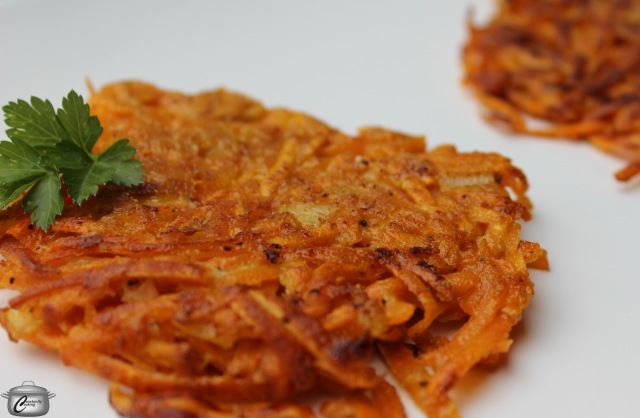 Sweet Potatoes make delicious latkes; you could even combine sweet and white potatoes for a tasty alternative to traditional latkes!