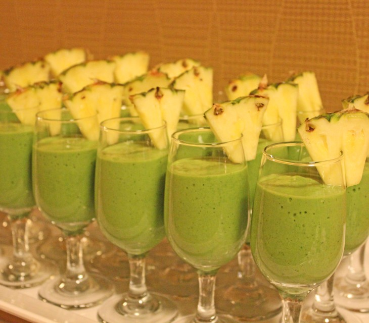 It was exciting to see my smoothie recipe as part of the Ford Sustainability Breakfast at Ottawa's BConnected Conference last month.