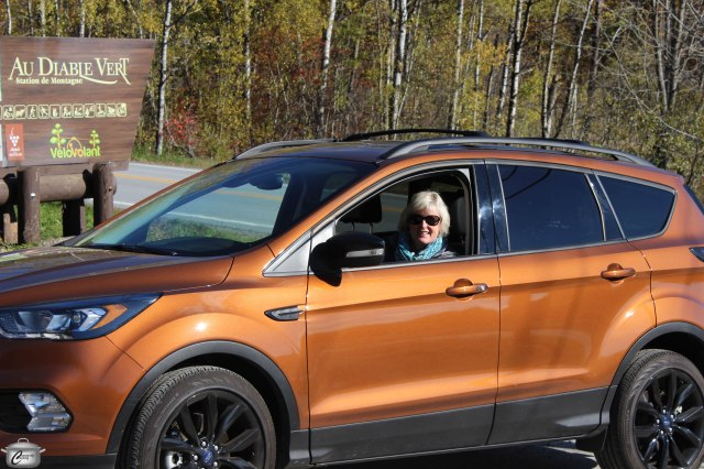 The 2017 Ford Escape was the perfect weekend roadtrip vehicle