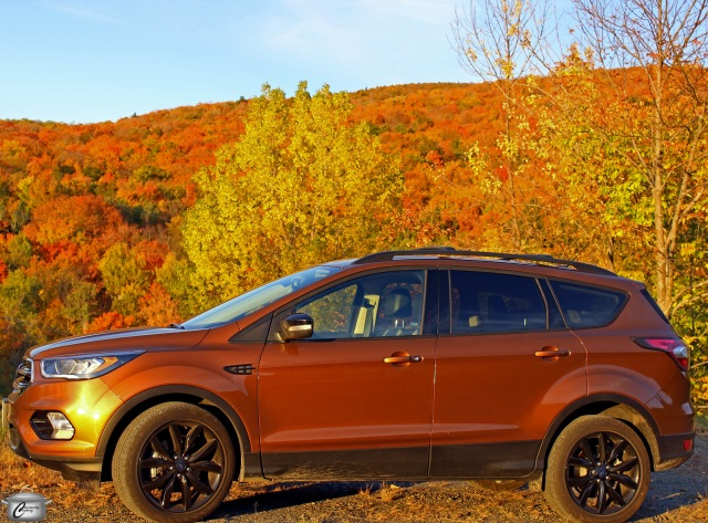 The 2017 Ford Escape was a perfect match for the fall foliage