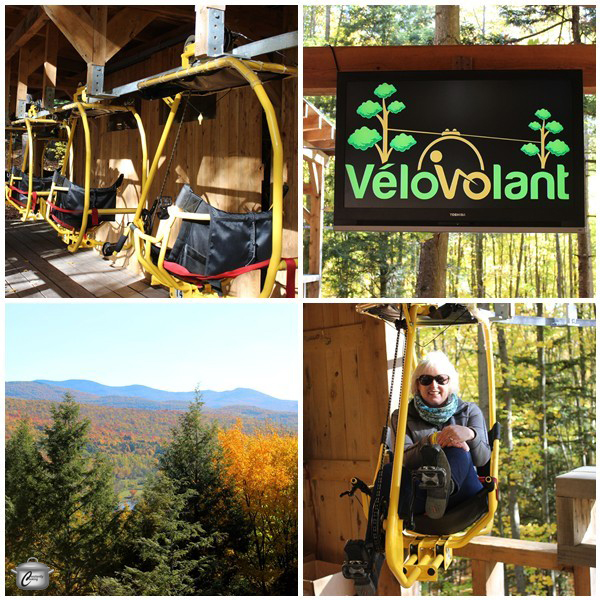 Velo Volant in Quebec's Eastern Townships is a great bucket list adventure